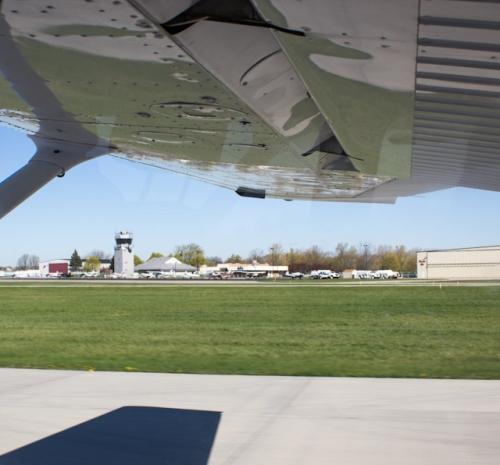 Landing Tower Ann Arbor Airport